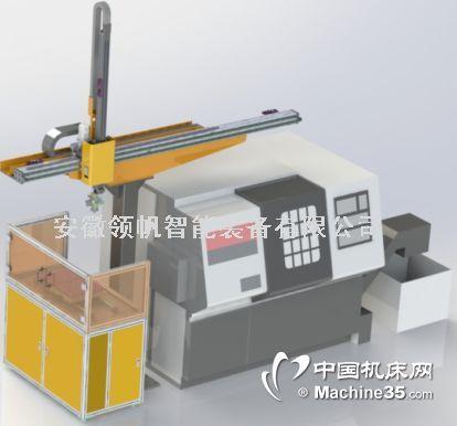 数控机床桁架机械手  上下料桁架机械手 单机床单立柱桁架机器