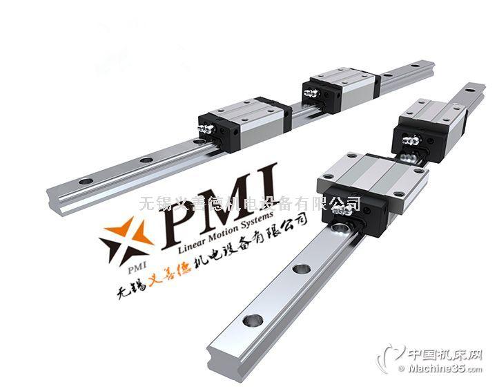 银泰直线导轨PMI AMT线性滑轨滚珠丝杆