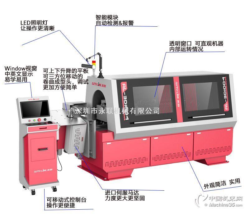 永联机械US-3D608数控机床