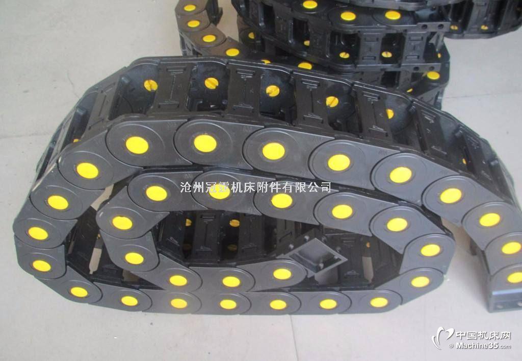 济南市青岛市桥式塑料尼龙拖链