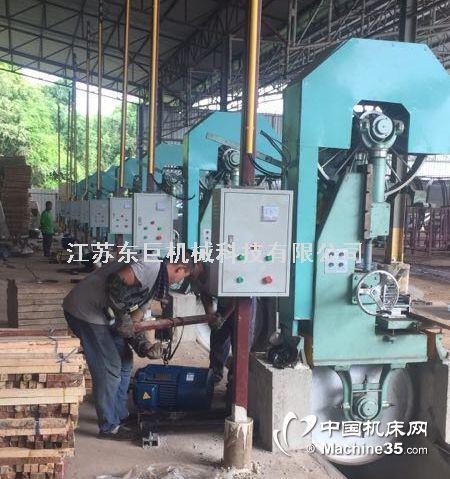 木材加工设备90带锯机江苏90台式带锯配各类跑车高效率