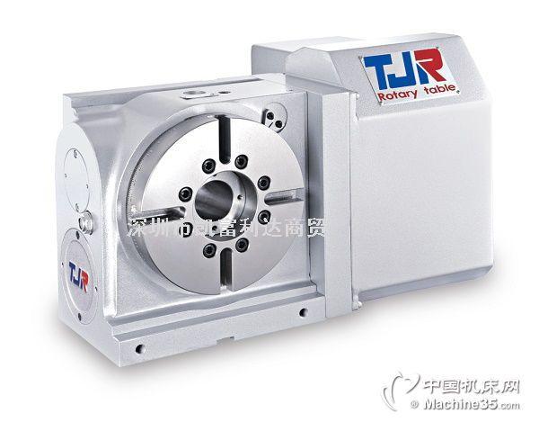 台湾潭佳TJR第四轴分度盘分度头数控旋转工作台CNC