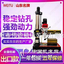 伟途机床生产厂家z3032摇臂钻床立式小型钻庆模具打孔打洞
