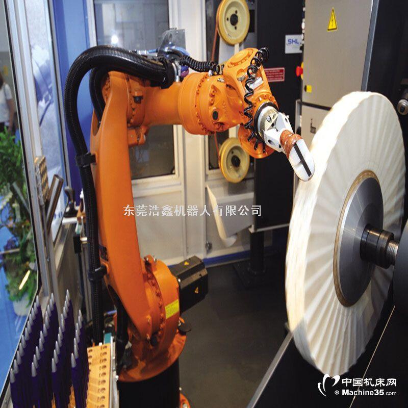 抛光打磨机器人 广东东莞安川机器人系统集成商