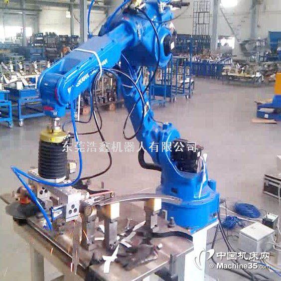 五金件打磨机器人 东莞安川机器人集成商