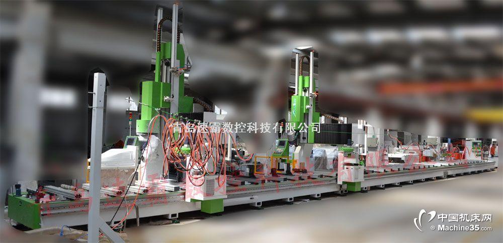鋁型材加工中心 鋁板雕刻機
