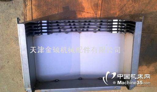 @機床鋼板防護罩不銹鋼罩廠家直銷非標定制導軌不銹鋼鋼板防護罩