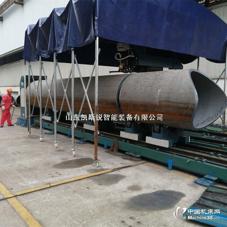 管道相貫線切割機 導管架坡口切割機 提高生產效率